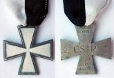 Decorazione per i Militari appartenenti allo CSIR detta anche la Croce di Ghiaccio