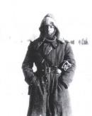feb. 43 - Il Ten. Mario Gariboldi durante la ritirata futuro Comandante del 5° Alpini del 1969/71